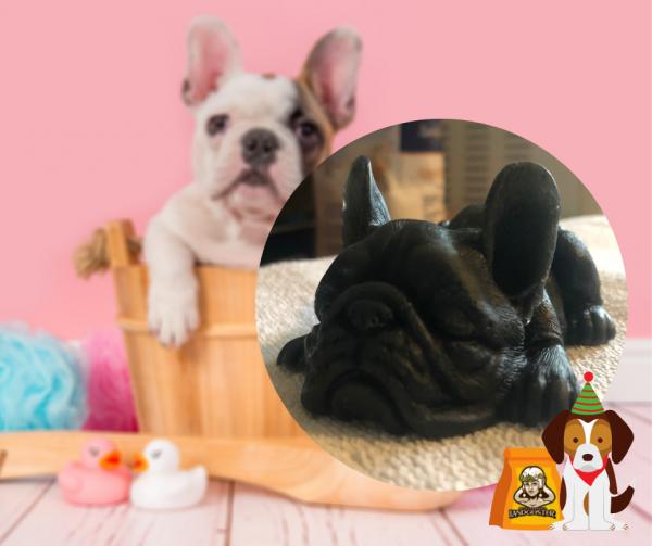 Handgeschöpfte Seife French Bulldog