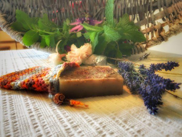 Lavendel-Bergsalz- Arganöl-Seife