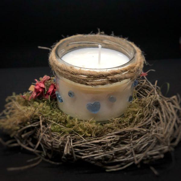 Kerzen aus Sojawachs